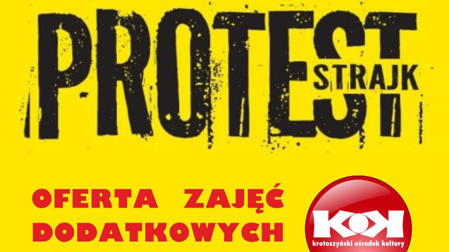 Oferta KOK w trakcie trwania strajku nauczycieli