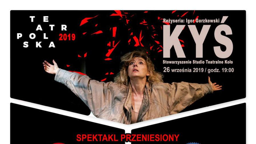 Pierwszy spektakl w ramach Teatr Polska! ZMIANA MIEJSCA!