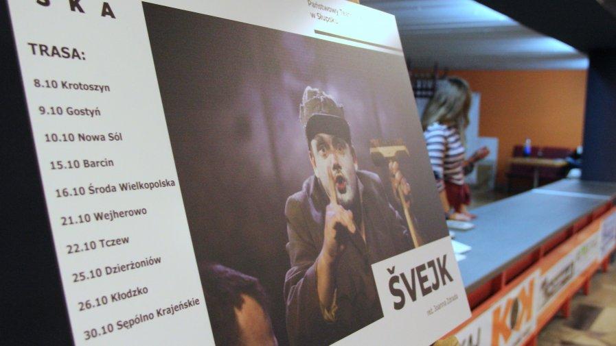 """Fotorelacja ze spektaklu """"Szwejk"""" w ramach programu Teatr Polska"""