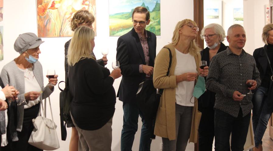 Wernisaż wystawy prac Pleneru Artystycznego Krotoszyn 2020